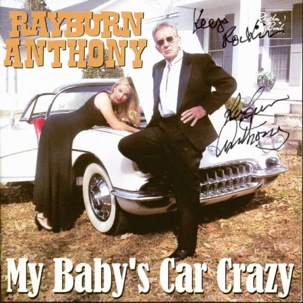 My Baby's Car Crazy (CD, signiert)