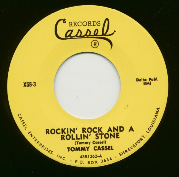 Rockin' Rock And A Rollin' Stone - It Ain't What You Got 7inch, 45rpm