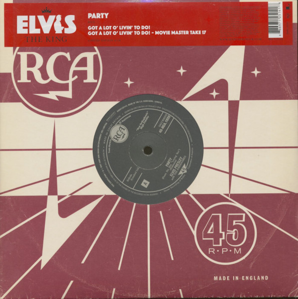 The King, Vol.6 - Party (10inch, 45rpm, EP)