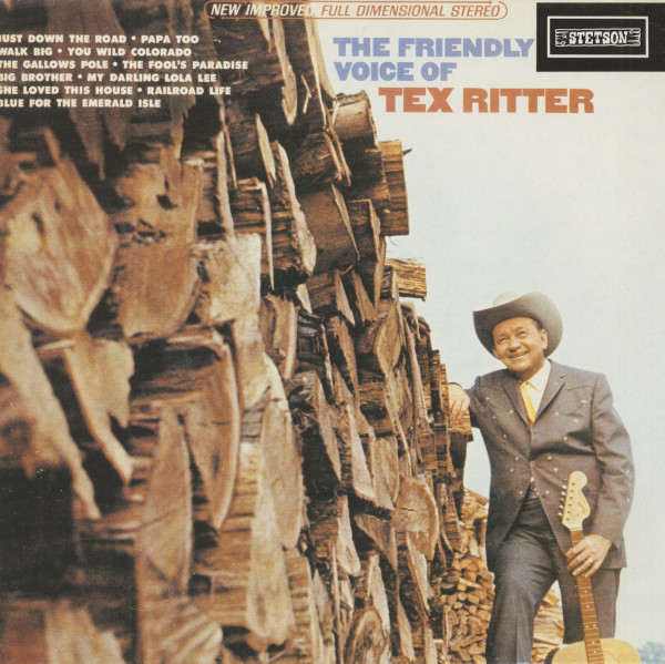 The Friendly Voice Of Tex Ritter (Vinyl)