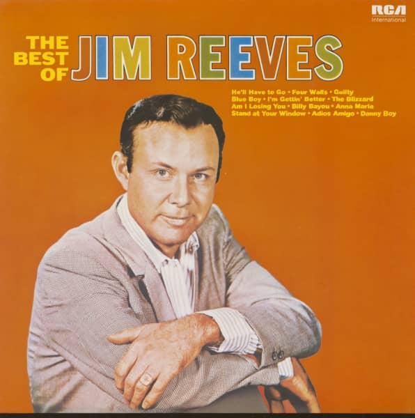 The Best Of Jim Reeves (LP)