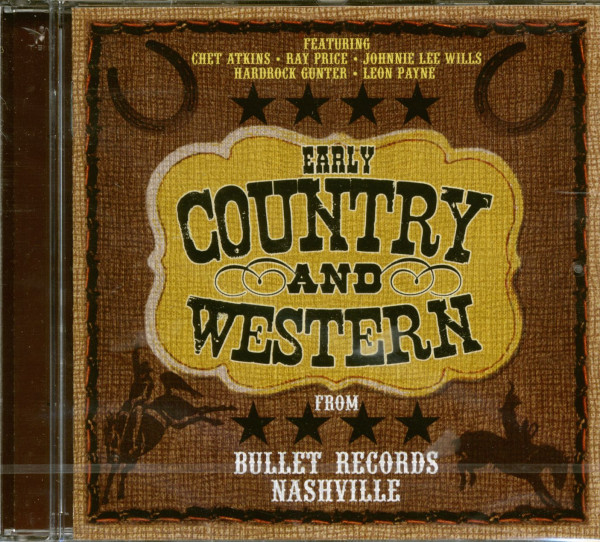 Early Country & Western From Bullet Records (CD)