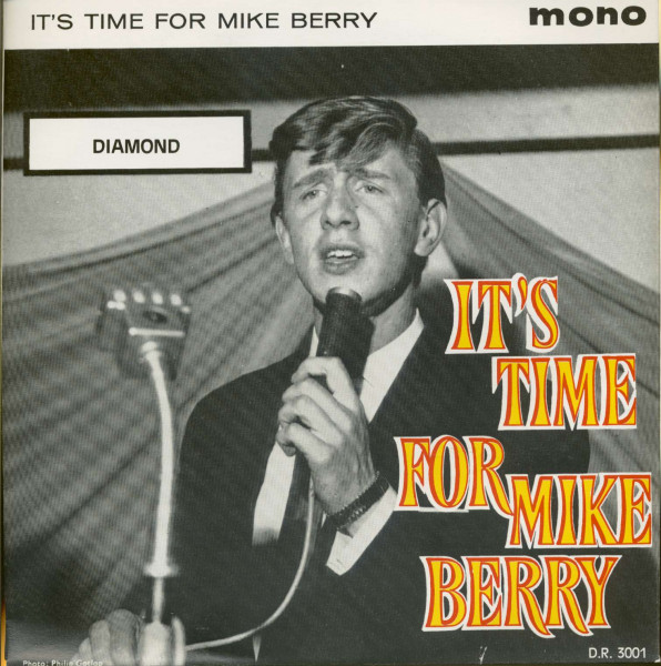 It's Time For Mike Berry (7inch, 45rpm, PS, EP)