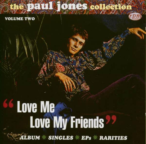 Love Me Love My Friends - The Paul Jones Collection Vol.2 (CD)