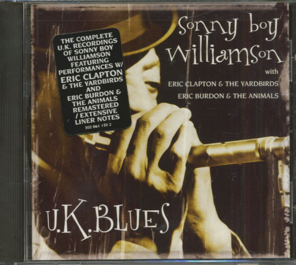 U.K. Blues (CD, Cut-Out)
