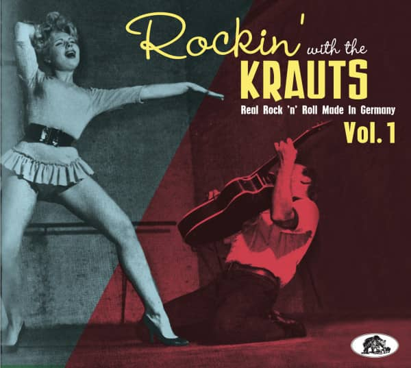 Rockin' With The Krauts - Real Rock 'n' Roll Made In Germany (CD)