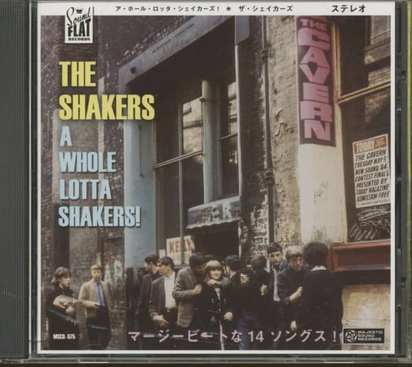 A Whole Lotta Shakers (CD)