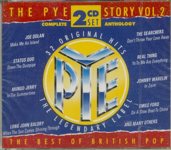 Vol.2, The Pye Story - British Pop 2-CD