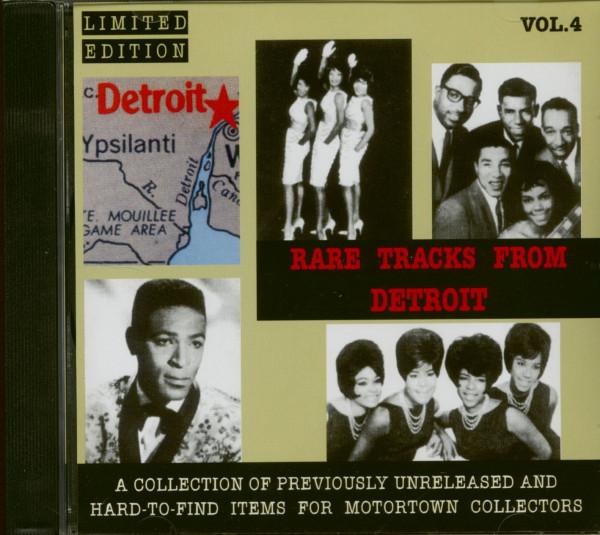 Rare Tracks From Detroit Vol.4 (CD)