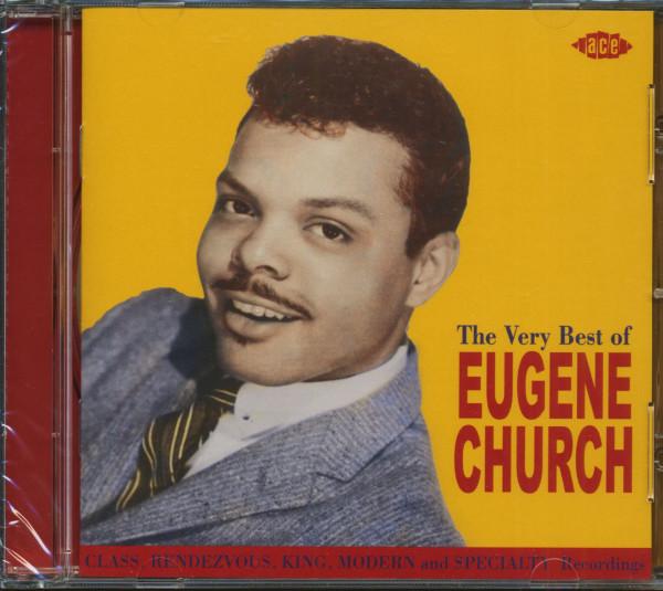 The Very Best Of Eugene Church (CD)