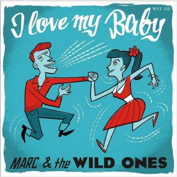 I Love My Baby b-w Please Don't Go 7inch, 45rpm, PS