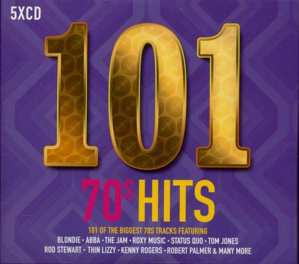 101 70's Hits (5-CD)
