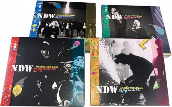Vol.1 - 4, Aus grauer Städte Mauern - NDW 1977-85 (8-CD)