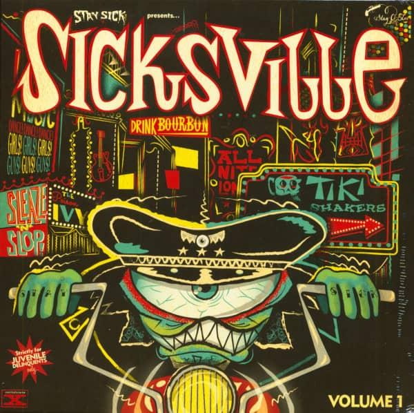 Sicksville Vol.1 (10inch LP)