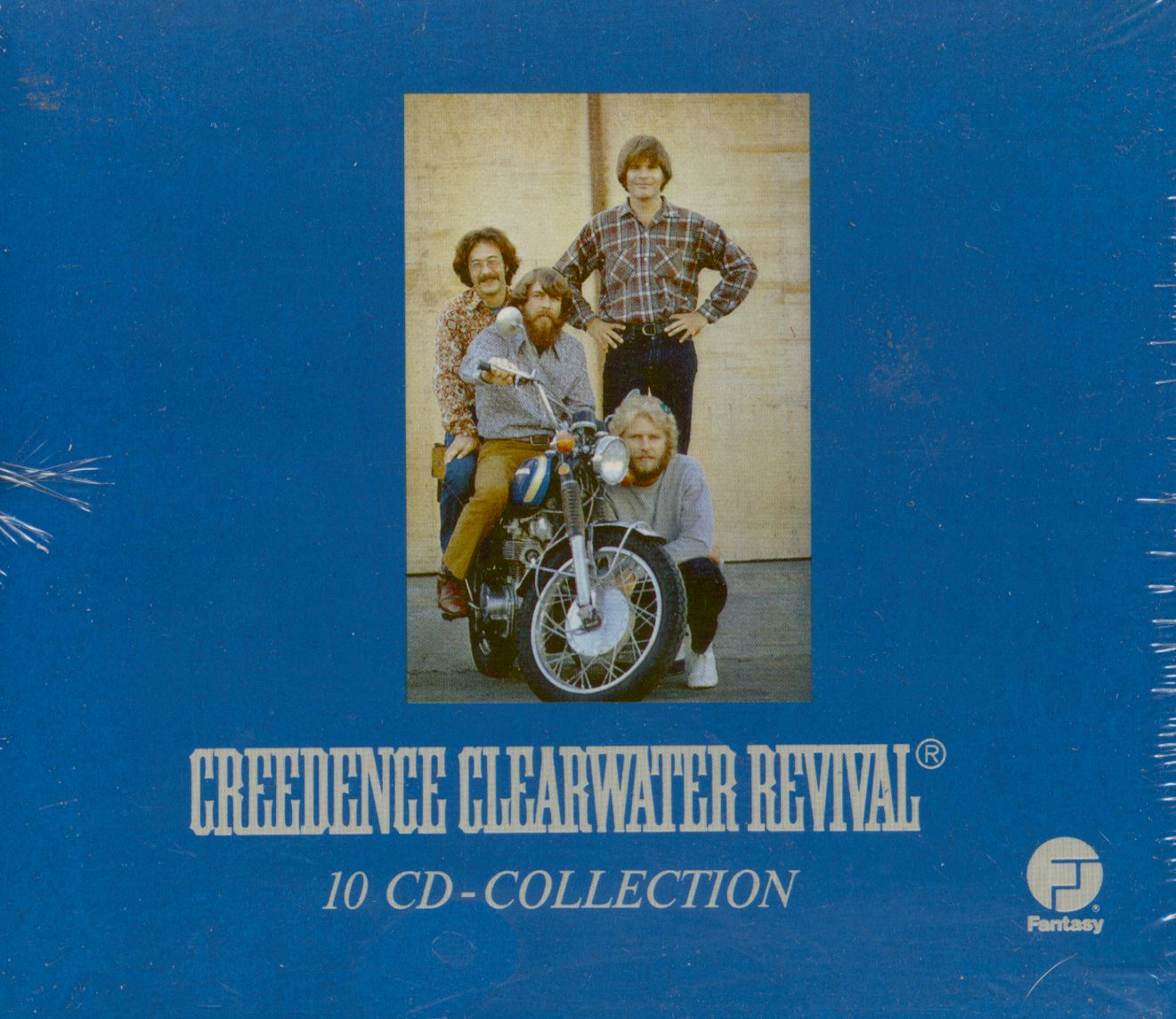 Creedence Clearwater Revival CD Collection 20 CD   Bear Family ...