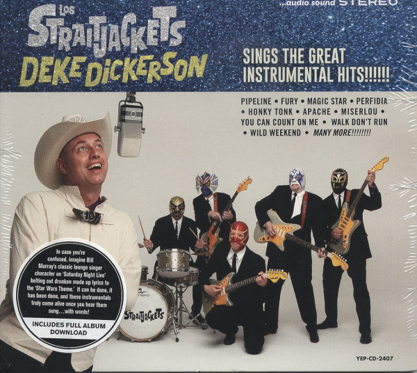 Deke Dickerson Sings The Great Instrumental Hits (2014)