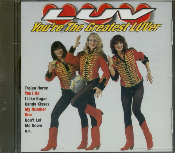 You're The Greatest Luver (CD)