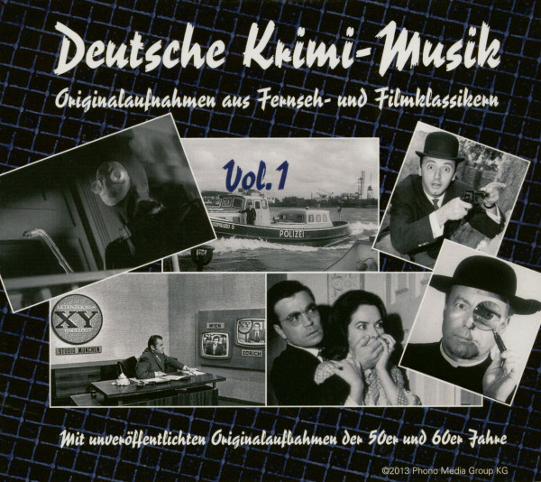Deutsche Krimi-Musik Vol.1 (CD)