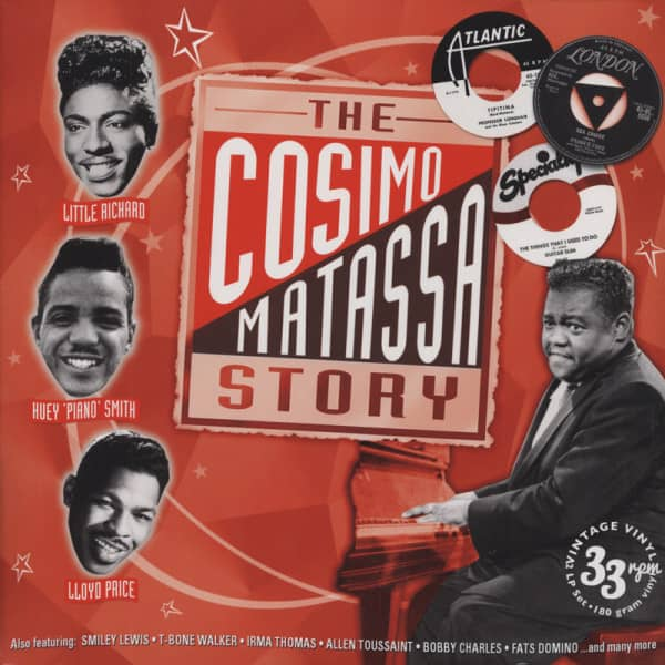 The Cosimo Matassa Story - The Essential Tracks (2-LP 180g Vinyl)