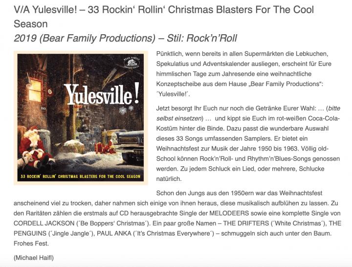 Presse-Archiv-Yulesville-33-Rockin-Rollin-Christmas-Blasters-For-The-Cool-Season-Streetclip