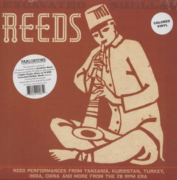 Excavated Shellac: Reeds (colored vinyl)