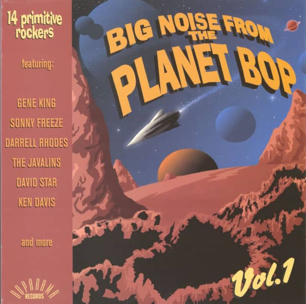 Big Noise From Planet Bop Vol.1 - Primitive Rockers