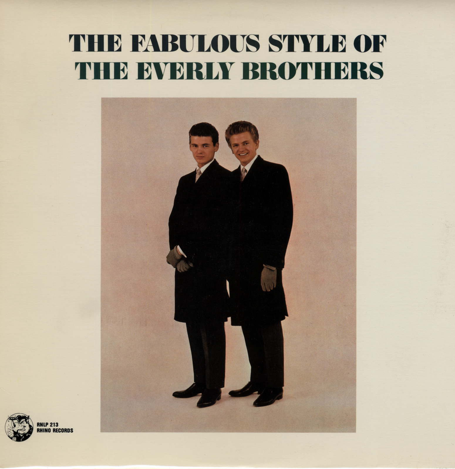The Everly Brothers LP: The Fabulous Style Of The Everly Brothers ...