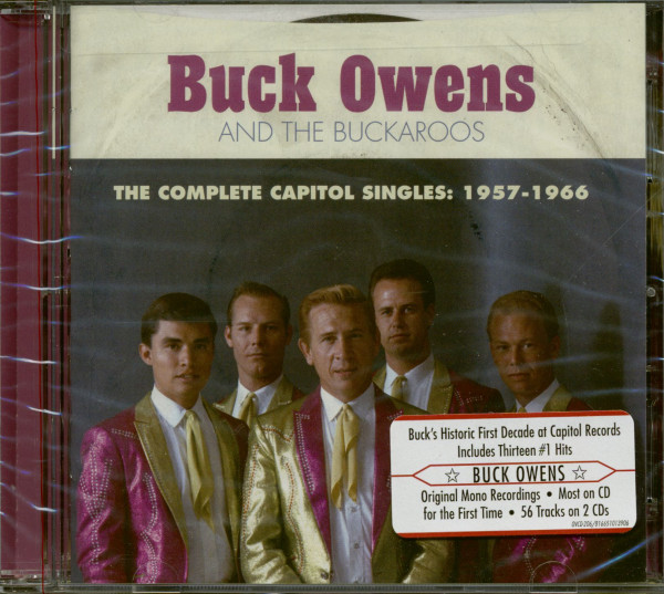 Buck Owens And The Buckaroos -The Complete Capitol Singles 1957-1966 (2-CD)