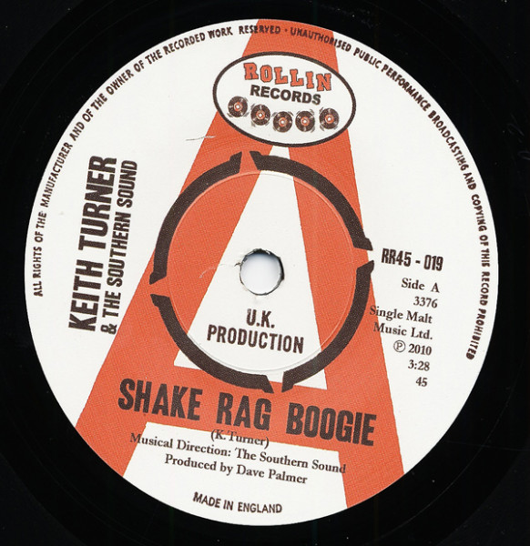 Shake Rag Boogie - They Call Me The.. 7inch, 45rpm, SC