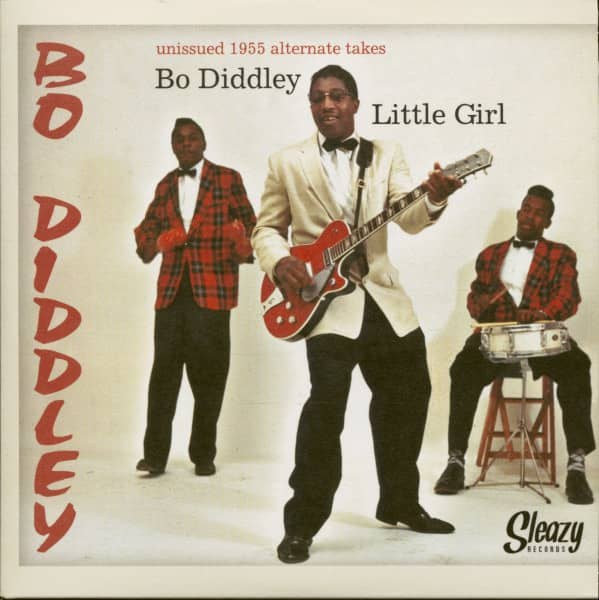 Bo Diddley - Little Girl (7inch, 45rpm, PS, BC)