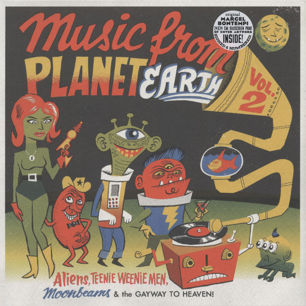 Music From Planet Earth Vol. 2 - 25cm LP