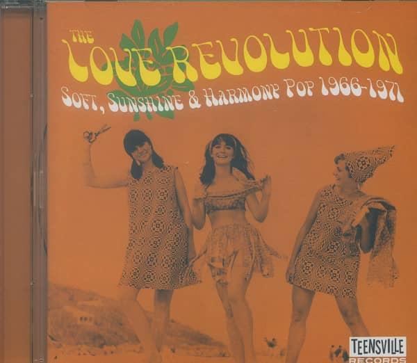 The Love Revolution - Soft, Sunshine & Harmony Pop 1966-1971 (CD)