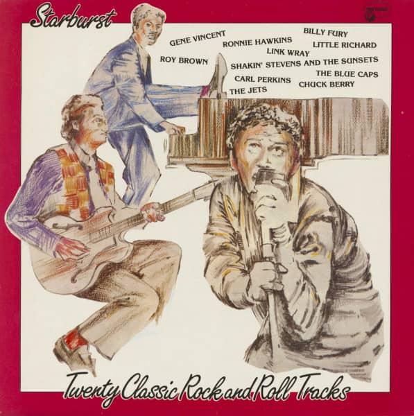 Starburst - Twenty Classic Rock And Roll Tracks (LP)