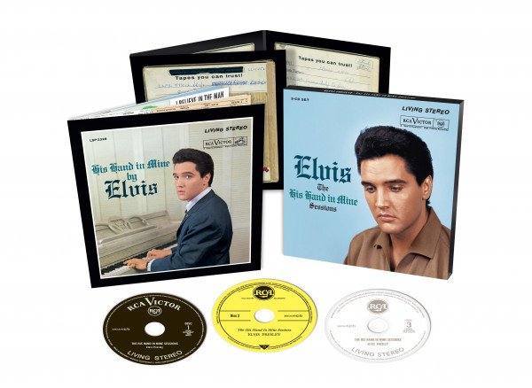 The His Hand In Mine Sessions (3-CD)