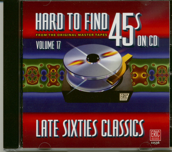 Hard To Find 45s On Cd 17 - Late Sixties Classics (CD)