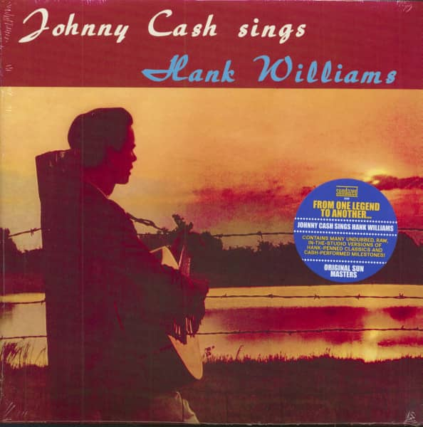 Johnny Cash Sings Hank Williams (LP)