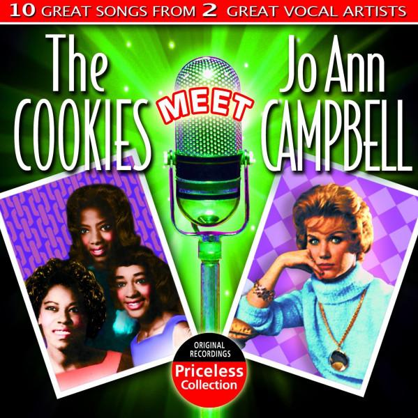 The Cookies Meet Jo Ann Campbell (CD)