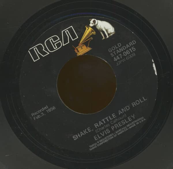 Shake, Rattle And Roll - Lawdy Miss Clawdy (7inch, 45rpm)