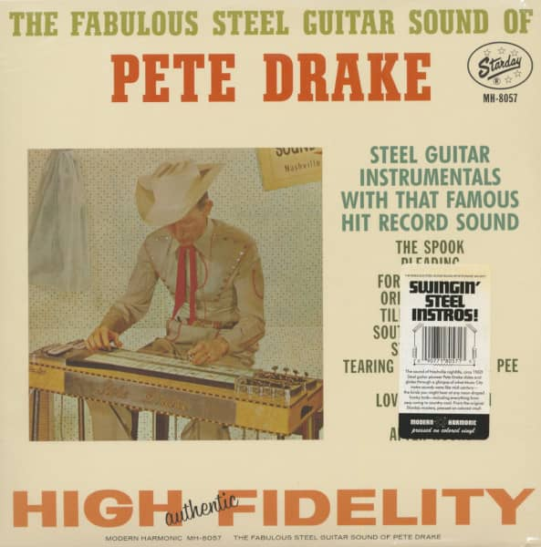 The Fabulous Steel Guitar Sound Of Pete Drake (LP)
