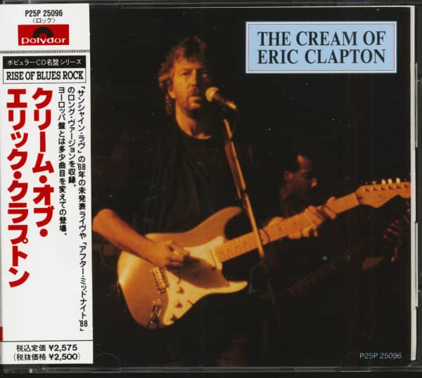 The Cream Of Eric Clapton (CD, Japan)