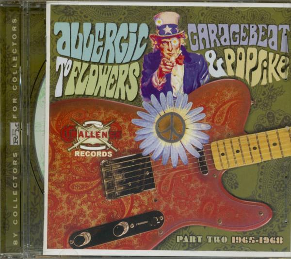 Allergic To Flowers - Challenge Garage (CD)