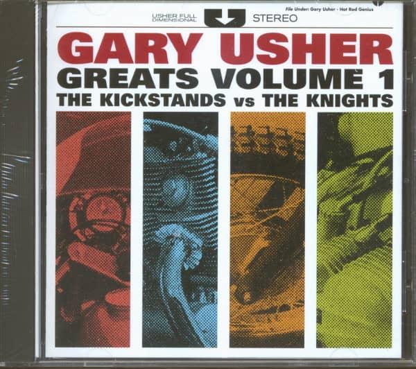 Gary Usher Greats Vol.1 The Kickstands vs The Knights (CD)