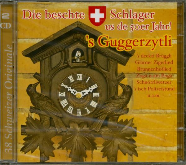 'S Guggerzytli - Die Beschte Schwiizer-Schlager Us De 50er Jahr (2-CD)