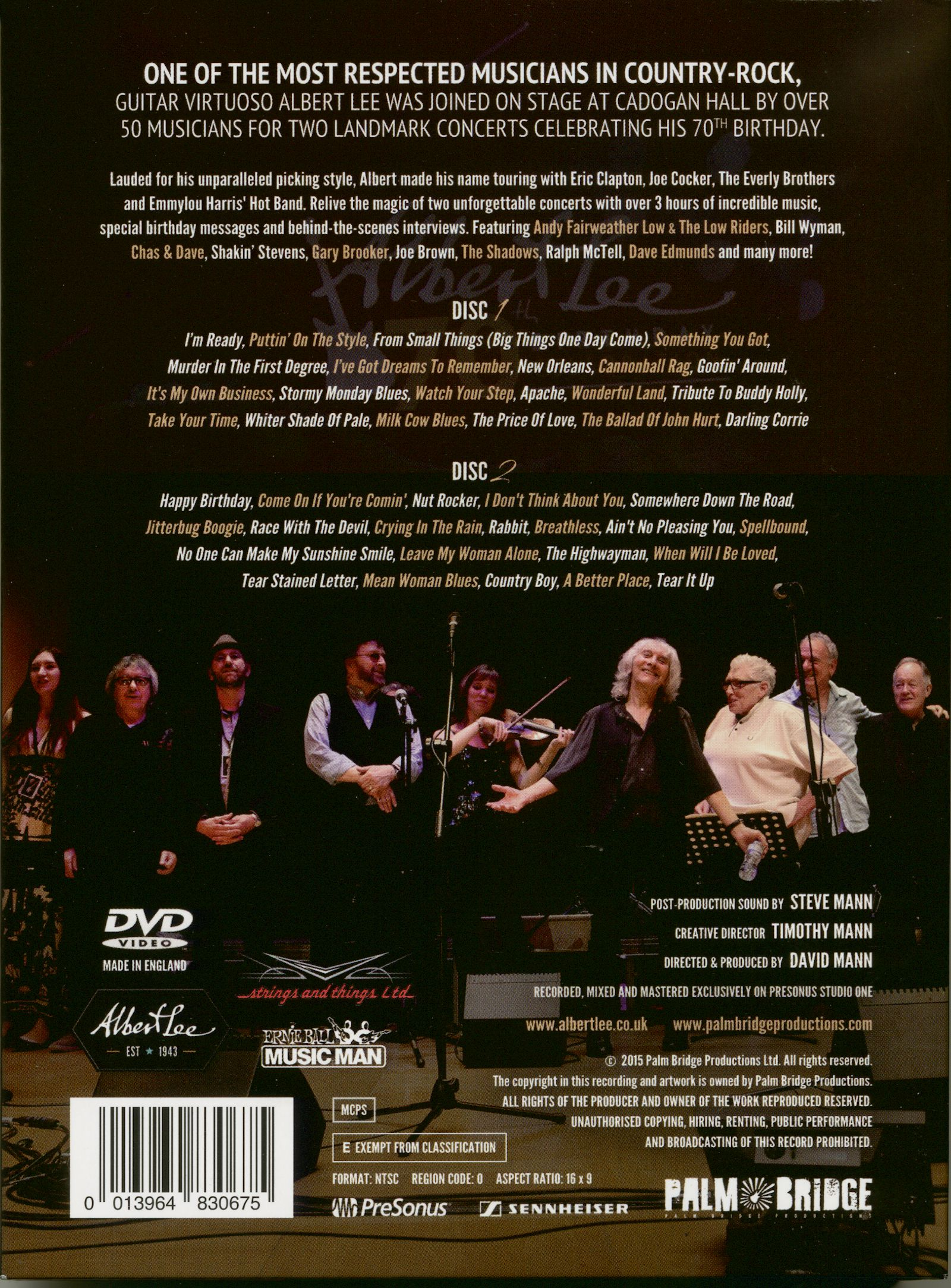 Vorschau 70th Birthday Celebration 2 DVD