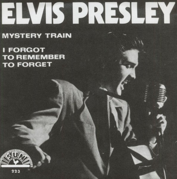 Mystery Train - I Forgot To Remember To Forget, 45rpm, PS, gold vinyl
