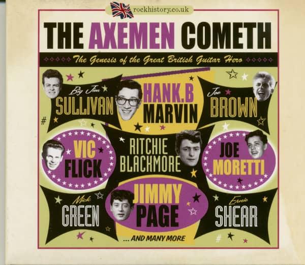 The Axemen Cometh - Genesis Of The Great British Guitar Hero (2-CD)