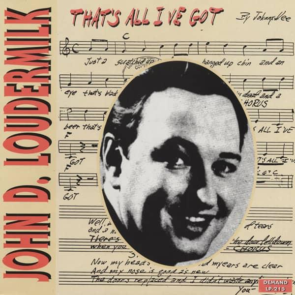 That's All I've Got (LP, Colored Vinyl)