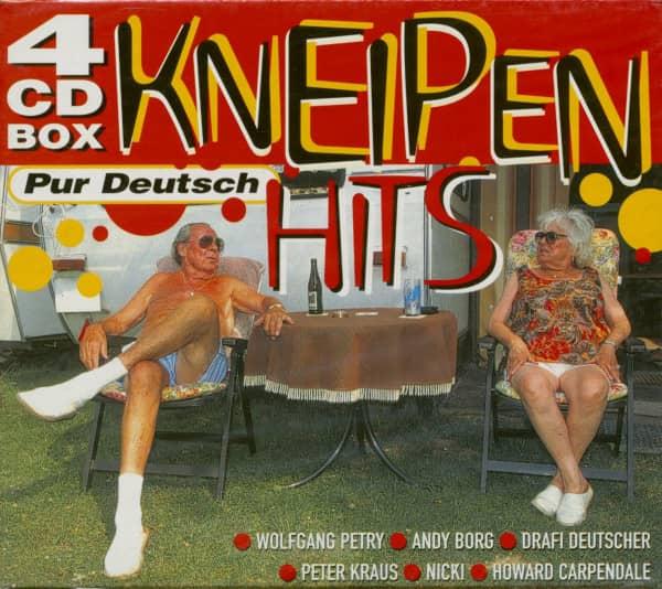 Kneipen Hits - Pur Deutsch (4-CD)
