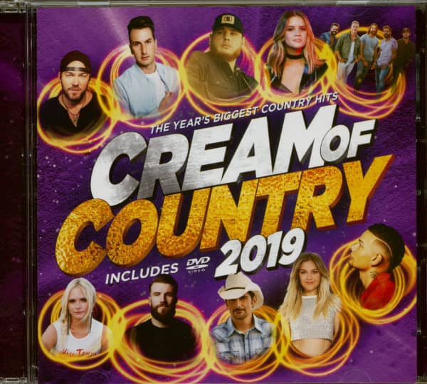 Cream Of Country 2019 (CD+DVD)