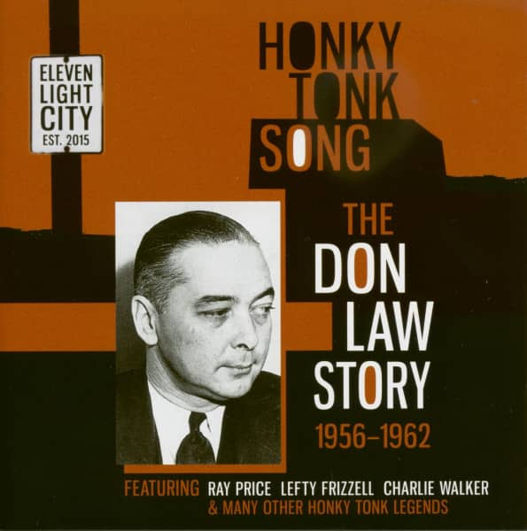Honky Tonk Song - The Don Law Story 1956-62 (CD)